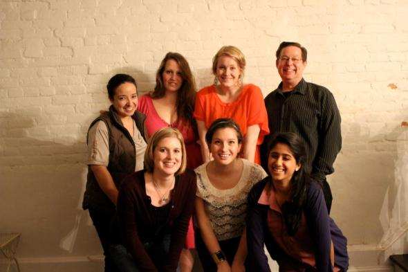 The superstar intern crew of spring semester 2012. (Photo by Pam Tobey)