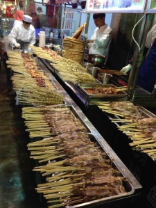 Be careful of street food, despite its enticing aroma.